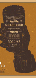 Craft Tuesday with Jolly&#39s Band в Шкафу 23/01